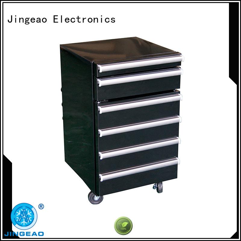 Jingeao blue toolbox fridge for hotel