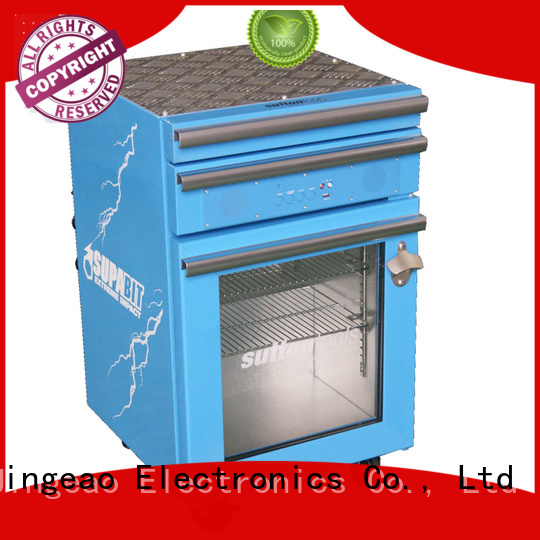 Jingeao blue tool box refrigerator for wholesale for supermarket