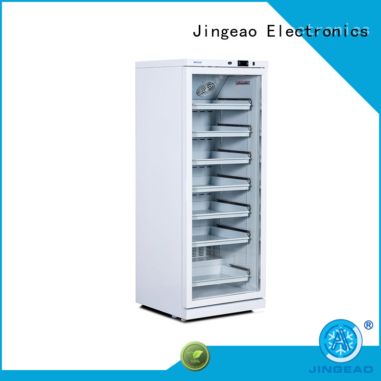 Jingeao medical pharmaceutical fridge temperature for drugstore