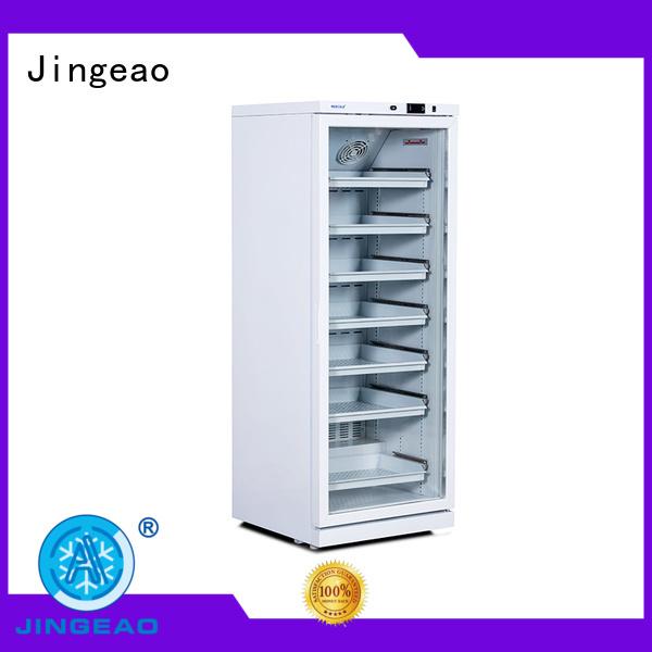 Jingeao high quality pharmacy refrigerator owner for drugstore