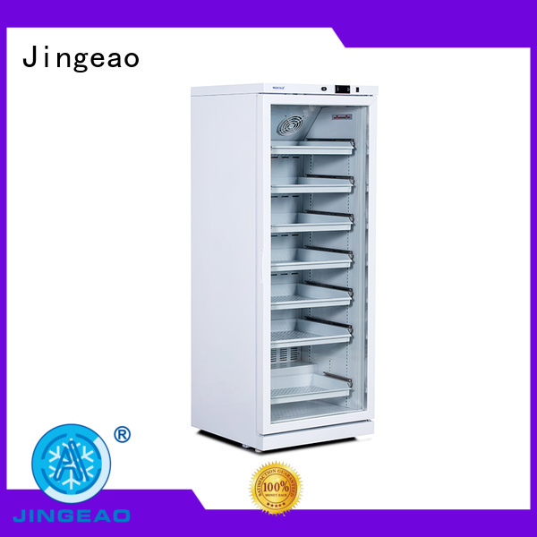 Jingeao high quality pharmacy refrigerator owner for drugstore