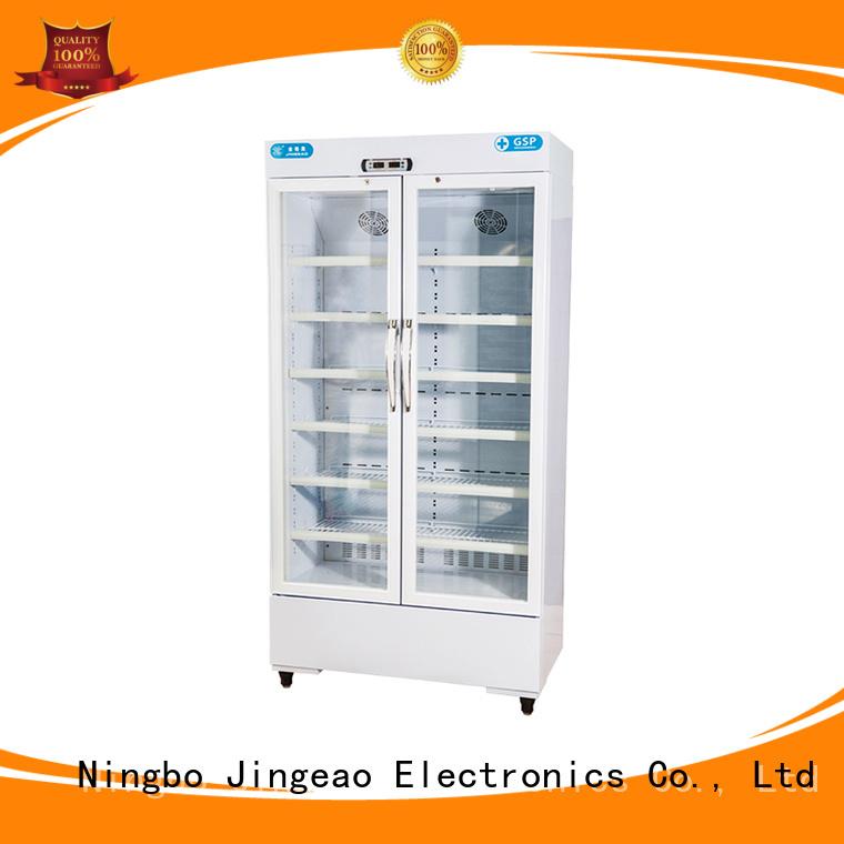 Jingeao power saving pharmaceutical refrigerator owner for drugstore