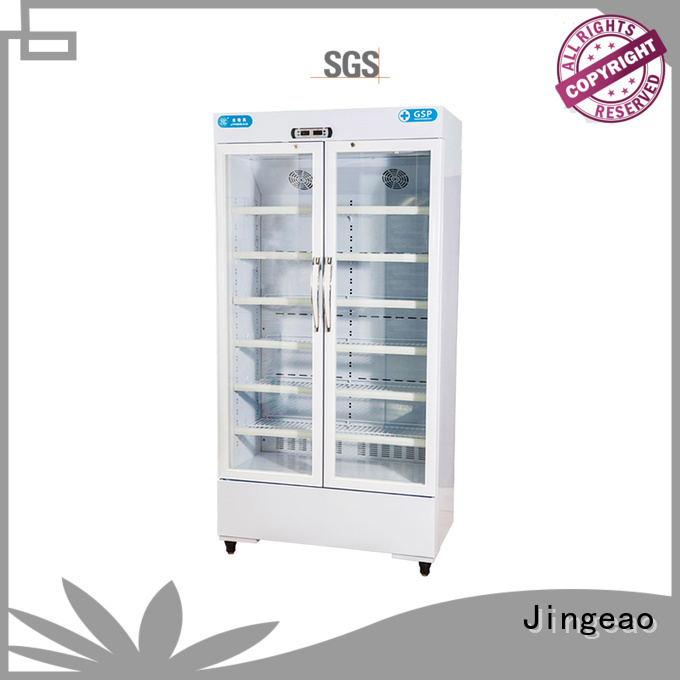 Jingeao multiple choice pharmacy refrigerator temperature for drugstore