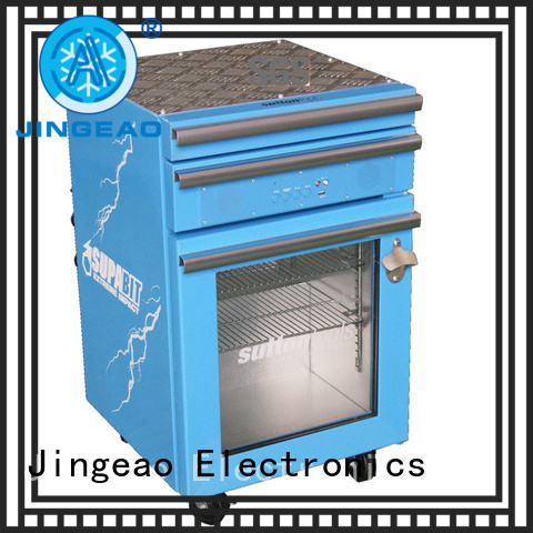 Jingeao accurate toolbox cooler manufacturer for restaurant