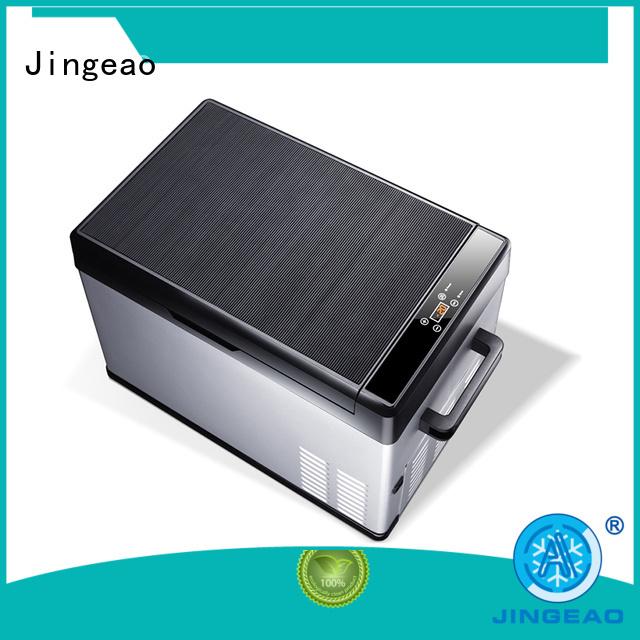 Jingeao car car fridge cooler application for vans