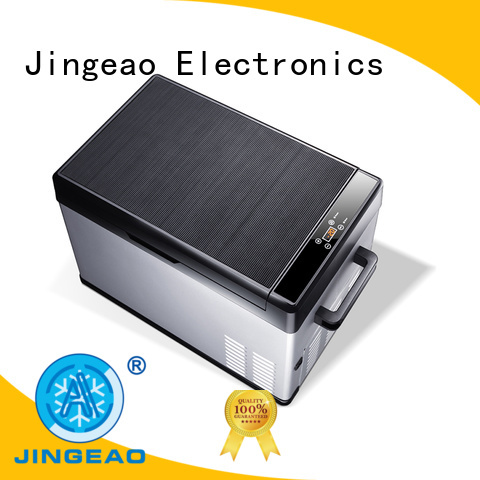 Jingeao compressor 12v fridge freezer certifications for vans