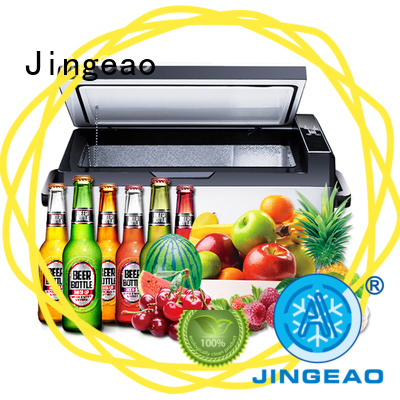 Jingeao fridge portable electric refrigerator protection for car