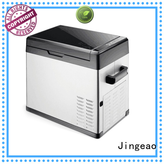 Jingeao automatic travel refrigerator for-sale for vans