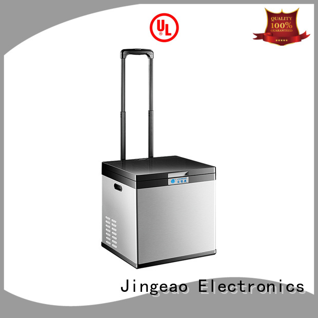 Jingeao coolest cheap mini fridge constantly for vans