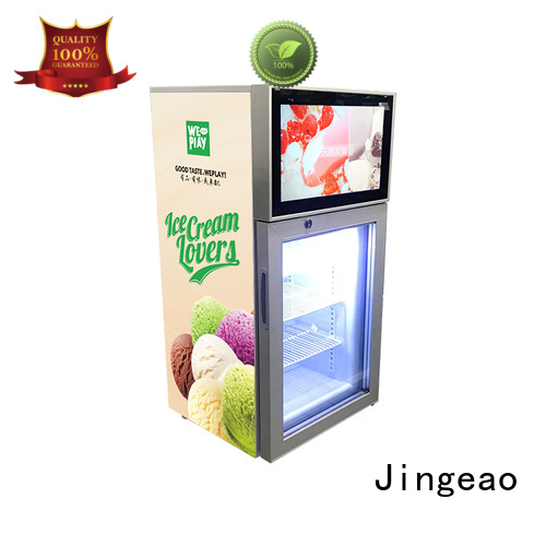fridge screen fridge collaboration for resturant Jingeao