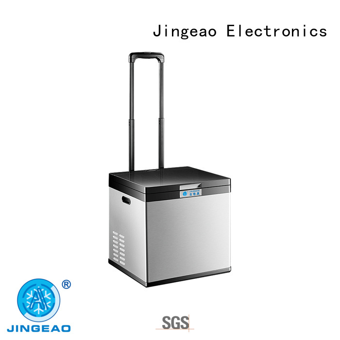Jingeao compressor travel refrigerator type for car