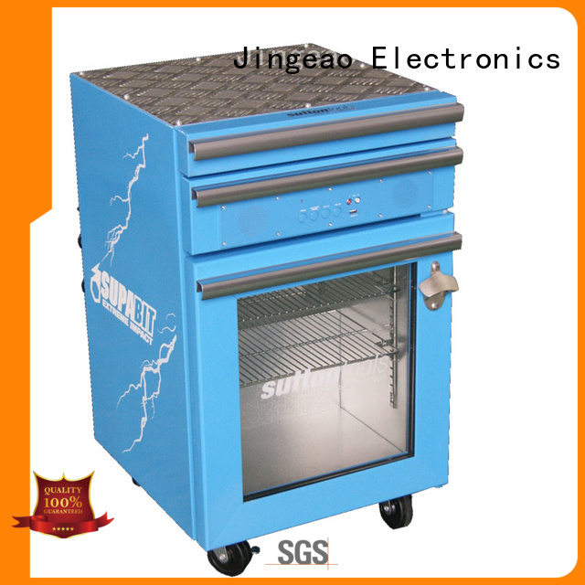 Jingeao blue toolbox cooler export for hotel