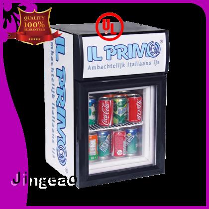 Jingeao display commercial display fridges workshops for store