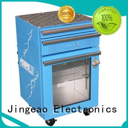 power saving outdoor mini fridge efficiently for store Jingeao