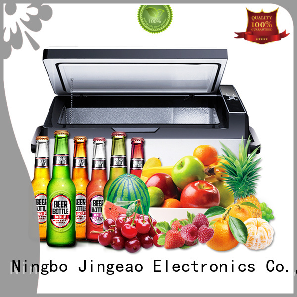 Jingeao small vehicle refrigerator workshops for car