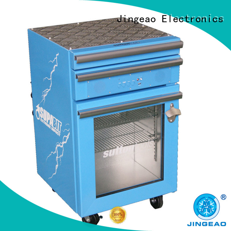 Jingeao drawerstoolbox commercial display fridges for wholesale for bar