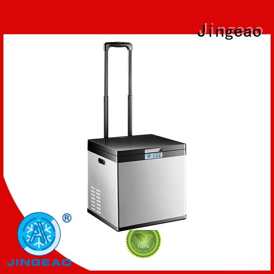 Jingeao elegant car fridge freezer car for car