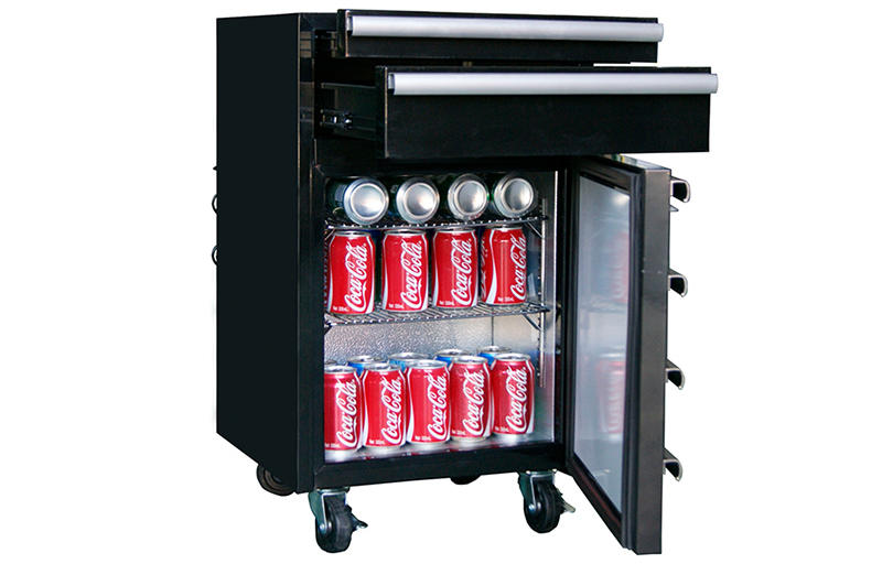 Jingeao fashion design mini beverage fridge efficiently for restaurant-1