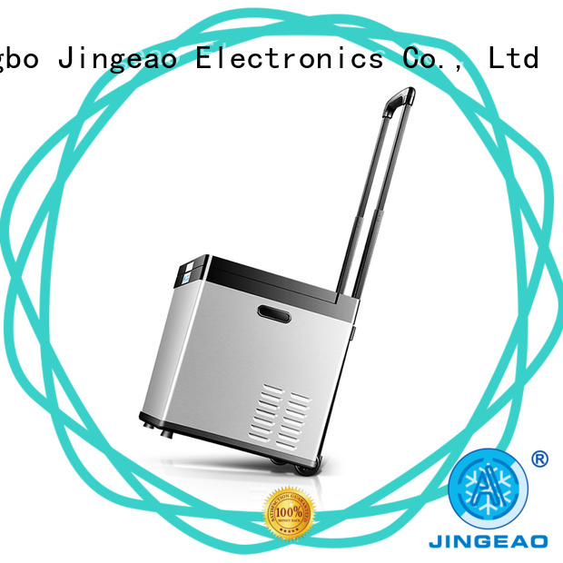 Jingeao automatic 12 volt refrigerator fridge for vans