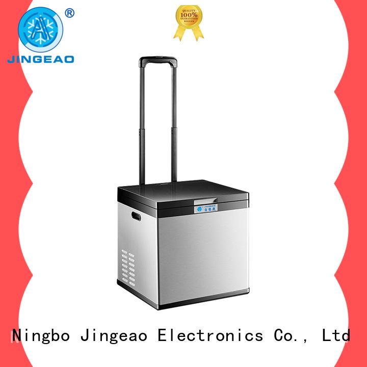 Jingeao compressor vehicle refrigerator type for vans