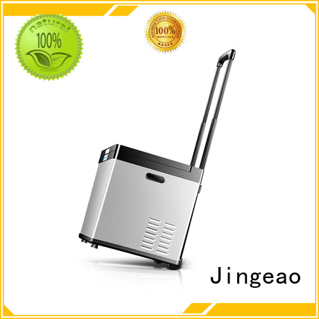 Jingeao compressor auto fridge improvement for vans