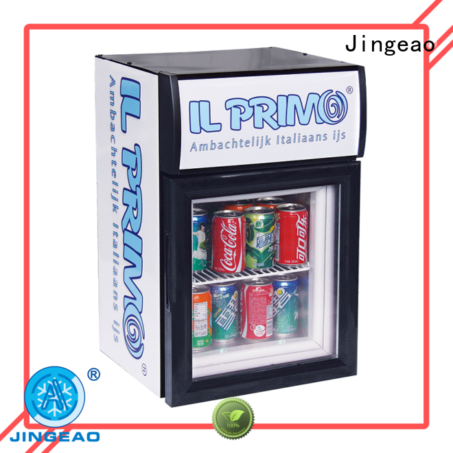 Jingeao good-looking display fridge management for bar