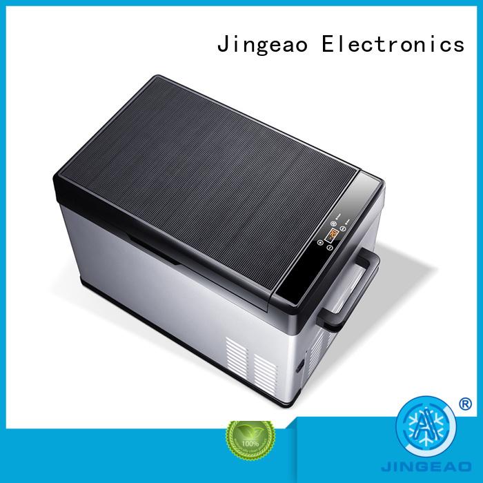 Jingeao car fridge management for car