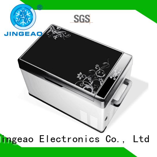 portable car fridge sensing for vans