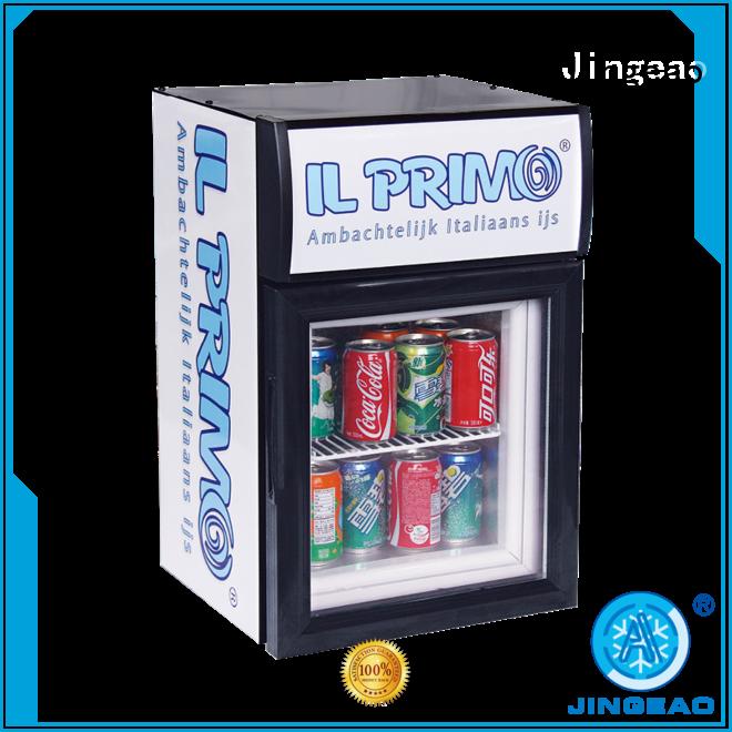Jingeao cooler commercial display fridges marketing for bakery