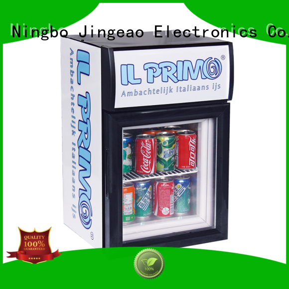 Jingeao display display freezer management for market