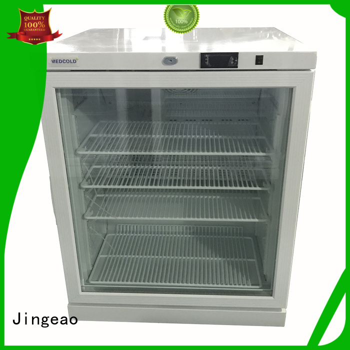 Jingeao accurate pharmaceutical fridge temperature for hospital