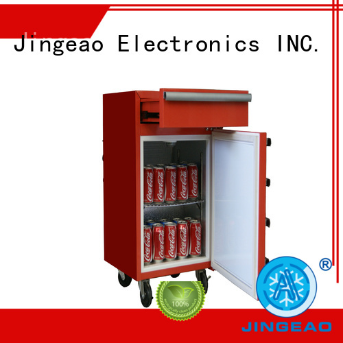 Jingeao drawerstoolbox commercial display fridges for supermarket