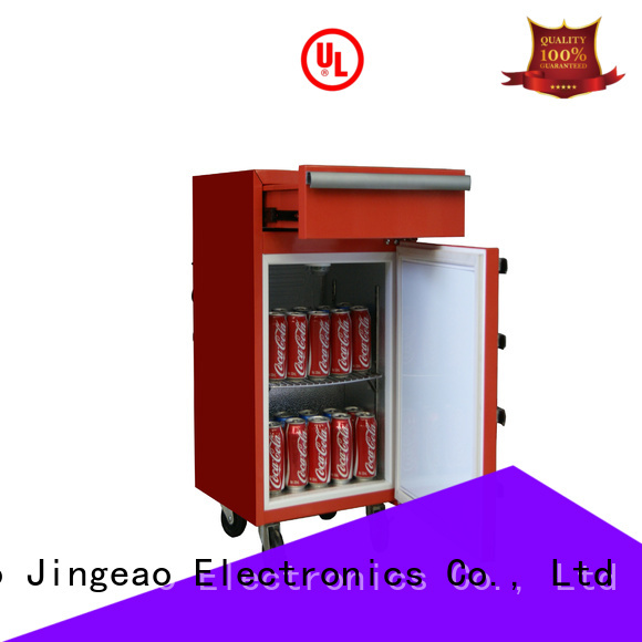 Jingeao efficient toolbox freezer drawerstoolbox for supermarket