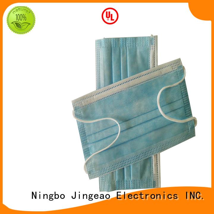 Jingeao good quality medical face masks supplier for virus prevention