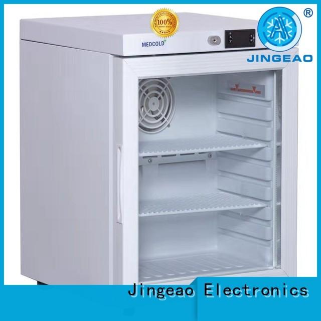 Jingeao power saving medication fridge with lock experts for pharmacy