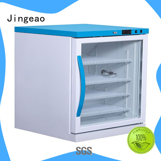 Jingeao medical medical refrigerator temperature for pharmacy