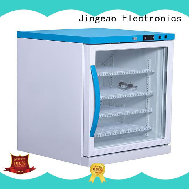 Jingeao easy to use small medical freezer experts for pharmacy