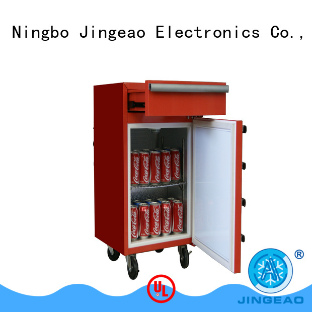 Jingeao accurate tool box refrigerator export for supermarket