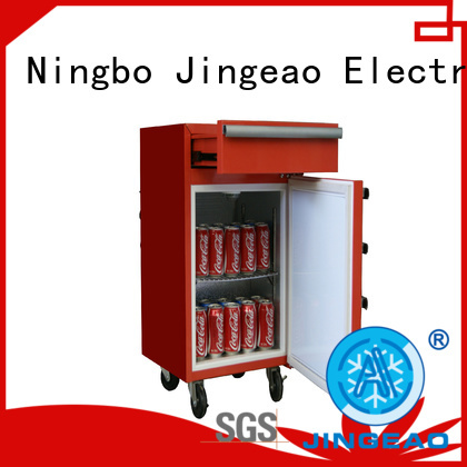 Jingeao efficient tool box refrigerator for supermarket