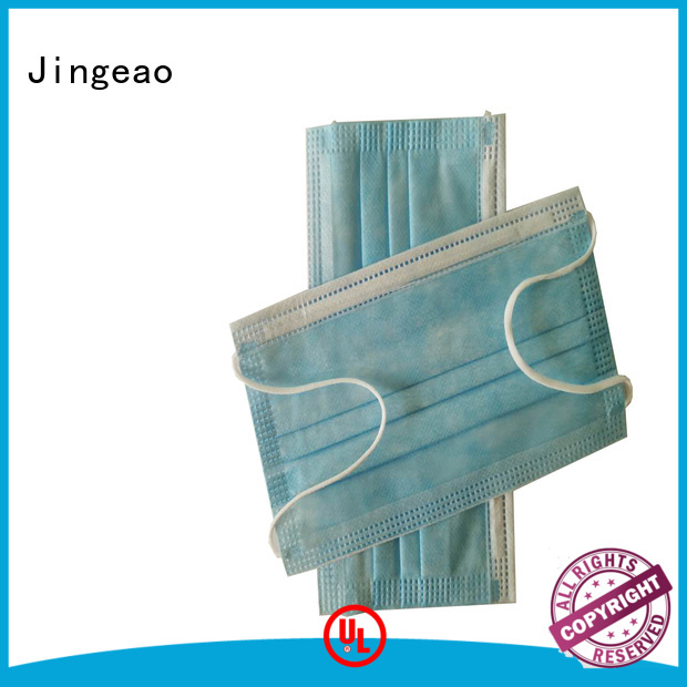 Jingeao good quality disposable medical face mask supplier for medical industry