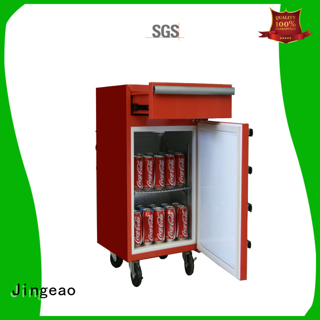 Jingeao efficient tool box refrigerator grab now for bar