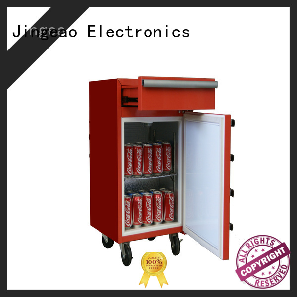 Jingeao glass tool box refrigerator for wholesale for wine