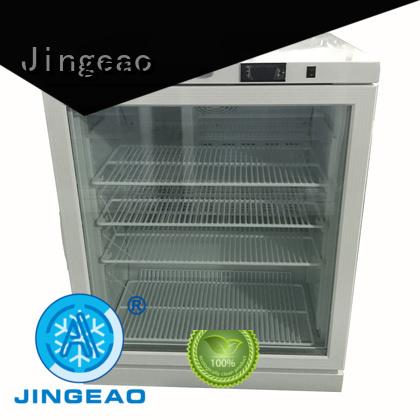 Jingeao liters pharmaceutical fridge development for drugstore