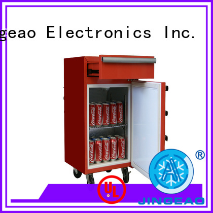 Jingeao fashion design fridge price manufacturer