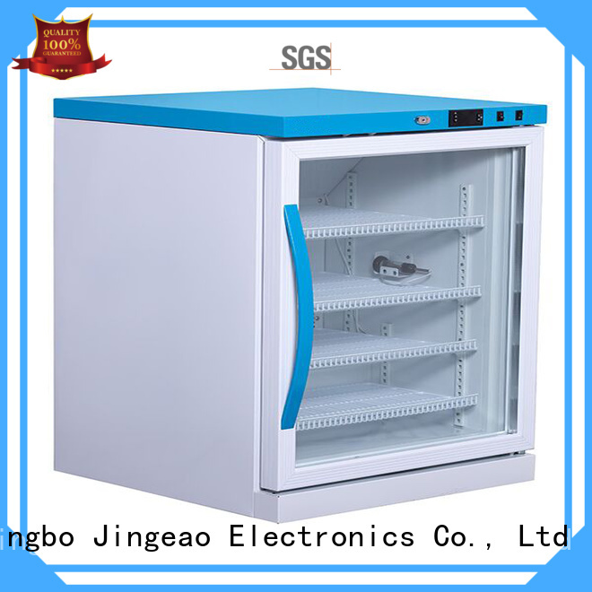 Jingeao refrigerator with lock owner for pharmacy