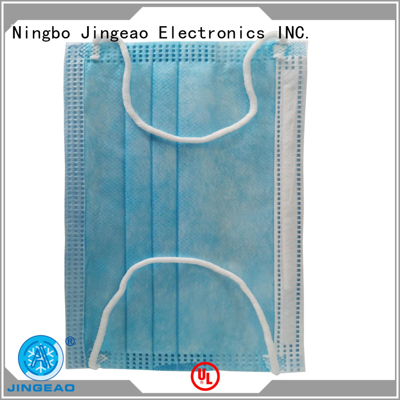 Jingeao reliable hospital face mask supplier for medical industry