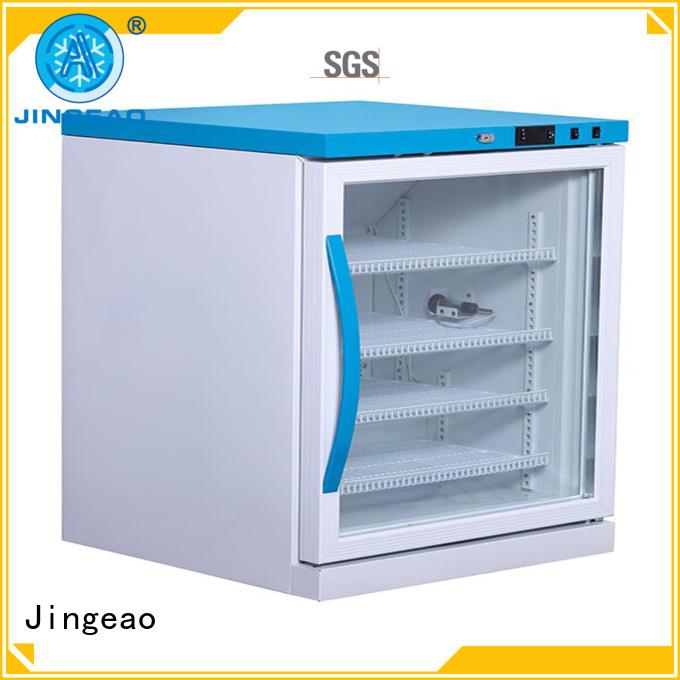 Jingeao fashion design pharmacy refrigerator supplier for drugstore