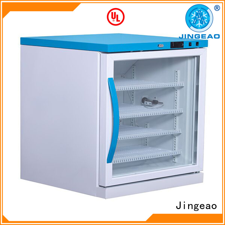 Jingeao liters medical refrigerator supplier for pharmacy