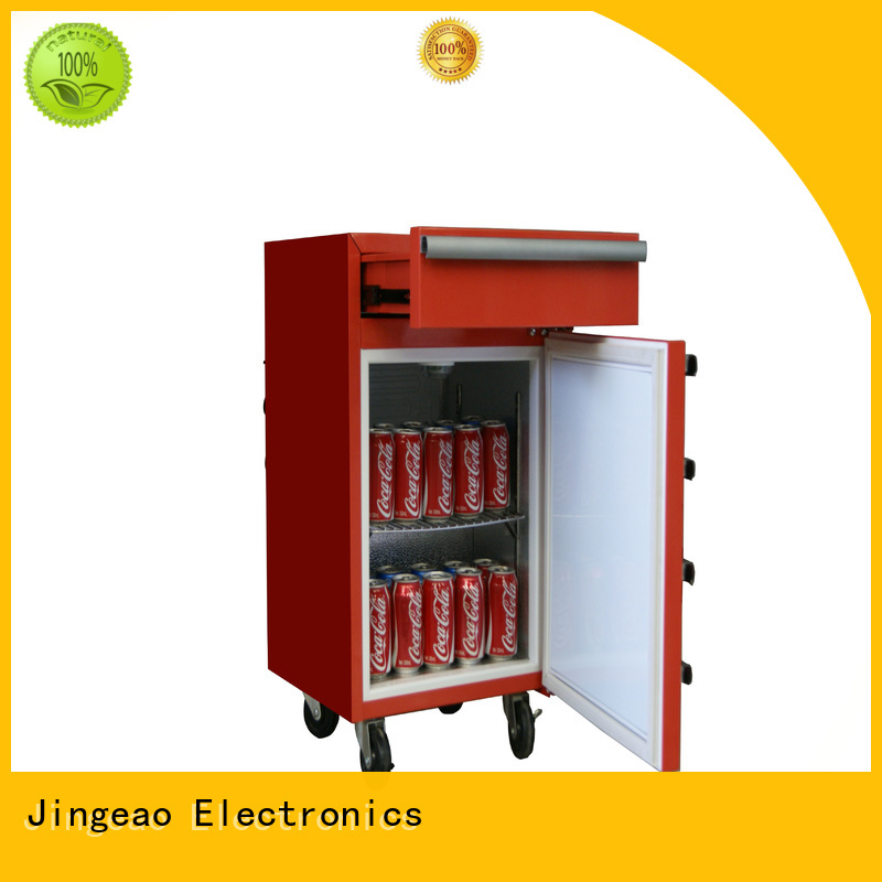 Jingeao easy to use small commercial fridge buy now for store