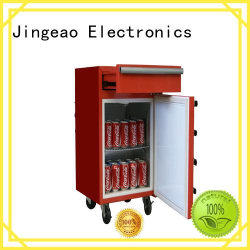 Jingeao multiple choice small commercial fridge export for market